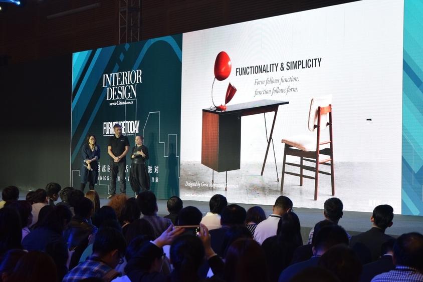 相片: Manyone Asia董事總經理Katarina Ivarsson 在深圳國際家具展演講,介紹北歐設計的核心價值和恆久魅力。