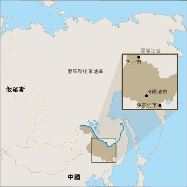 圖:黑龍江省地圖