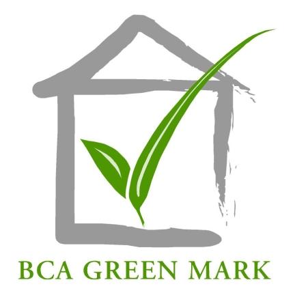 标志: 绿色建筑标志是新加坡建设局推出的绿色建筑评级系统。