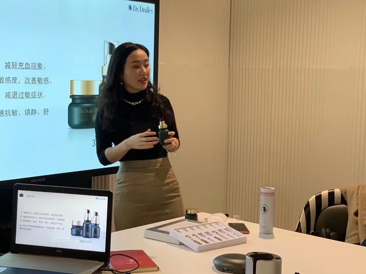 Photo: Product training