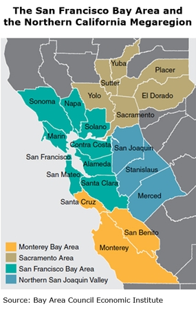 Lessons From North American Regional Development The Bay Area Expansion Hktdc Research This map compares san francisco housing prices to the most gorgeous places on earth. hktdc research