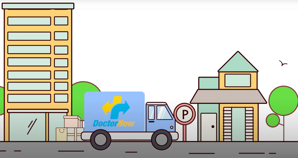 Photo: DoctorNow's medication delivery service