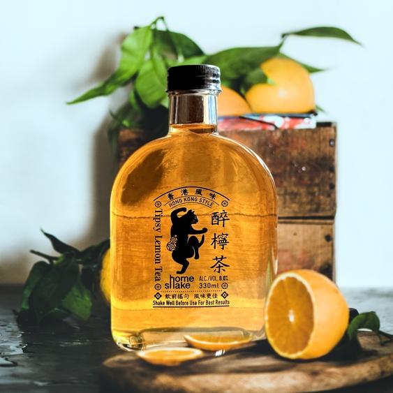 Photo: Homeshake's Tipsy Lemon Tea Cocktail: A tribute to Hong Kong-style iced lemon tea.