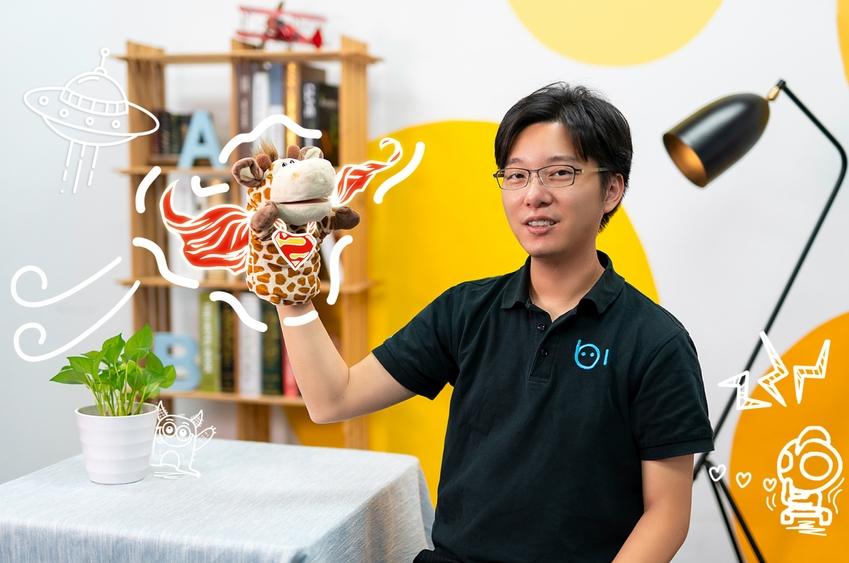 相片: 六一教育首席执行官、画啦啦创始人李伟。