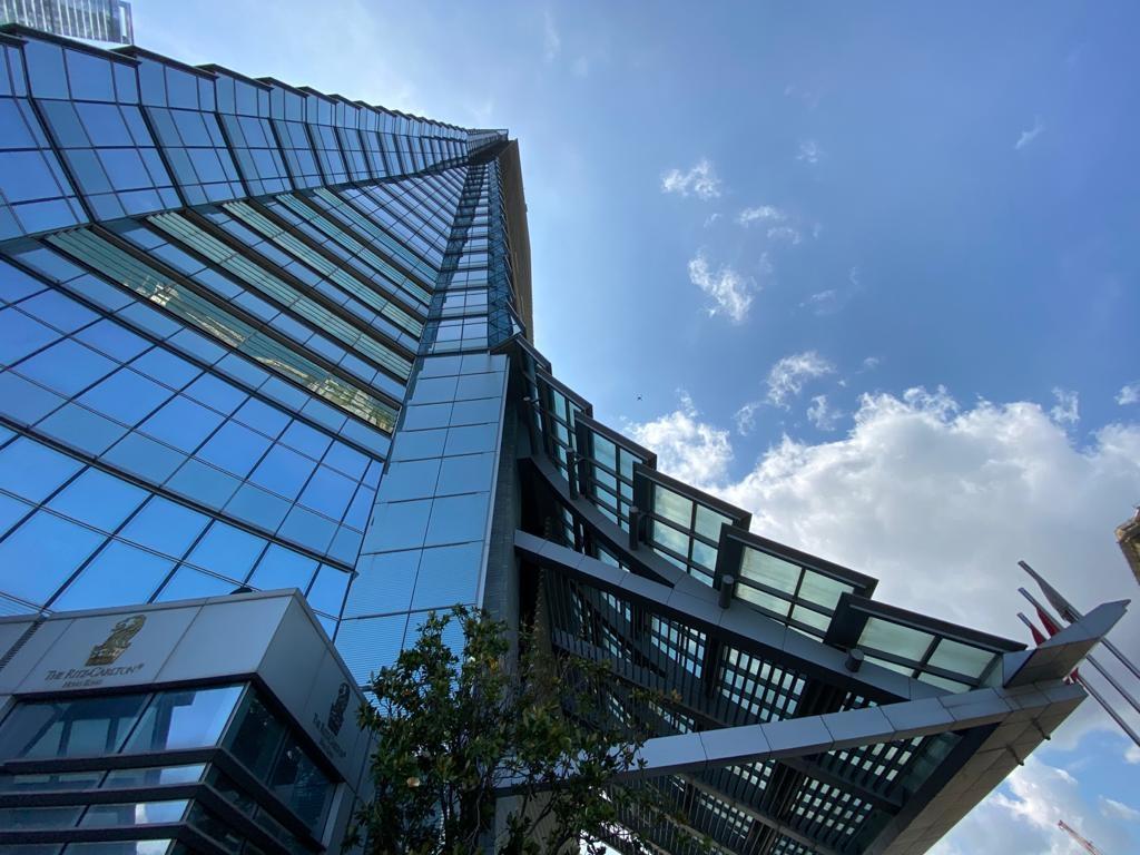 Photo: International Commerce Centre, Hong Kong.