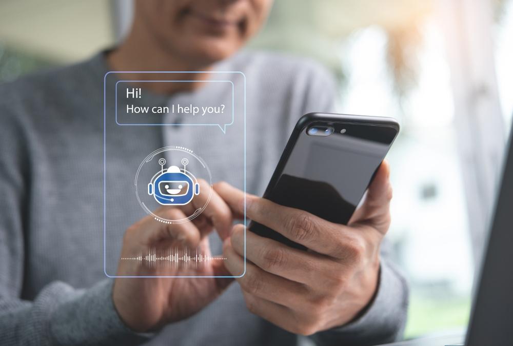 图: 聊天机器人常用于处理顾客查询。