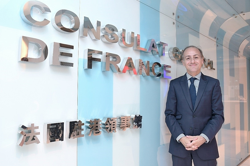 Photo: Alexandre Giorgini, Consul General of France in Hong Kong and Macao.